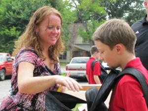 Park Elementary School Supplies Drive 2011
