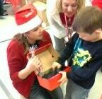 Project Reach Santa Outreach