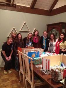 University of Tulsa Tri Delta Ladies